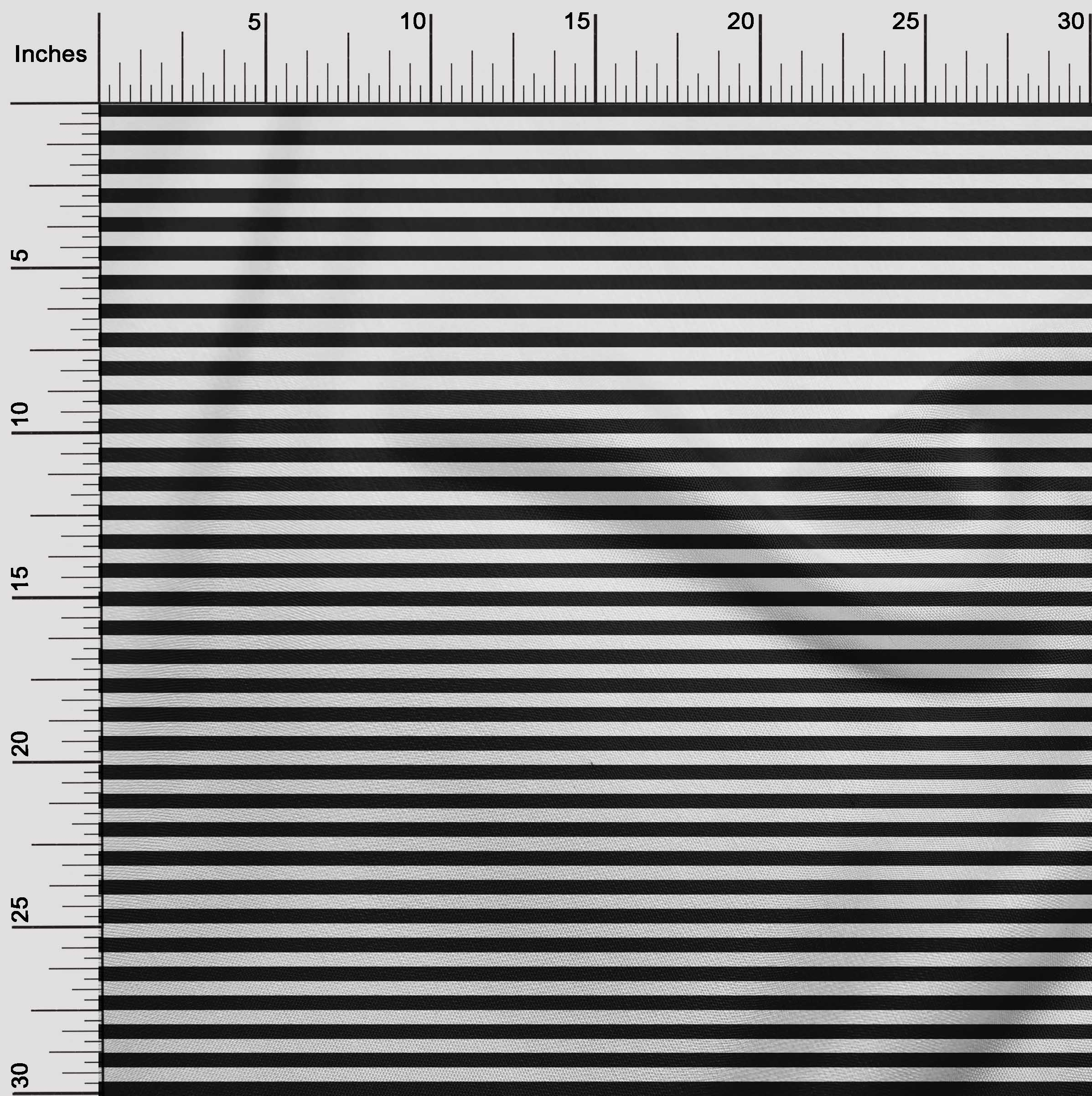 oneOone Awning Stripe Craft Decor Fabric Printed By The ...